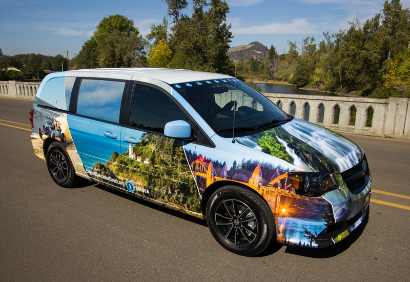 Travel Lane County, ANNE the Van Wrap
